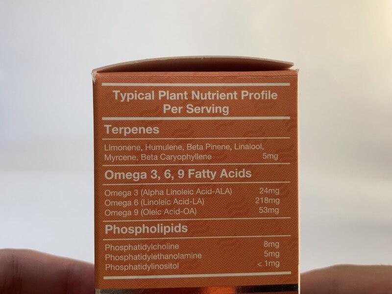 オメガ3系脂肪酸も一緒に摂れて健康的